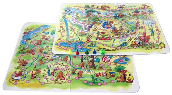 Купить Настольная игра ходилка Десятое королевство Алиса в стране чудес,Винни-Пух 2 в 1 Настольные игры для детей