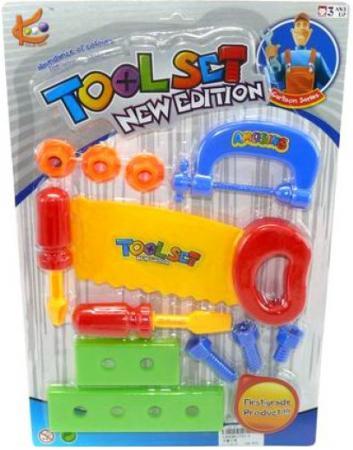 Купить Набор инструментов Shantou Gepai Tool 12 предметов 721-5 Игровые наборы Юный мастер