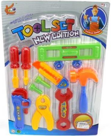 Купить Набор инструментов Shantou Gepai 821-13 12 предметов Игровые наборы Юный мастер