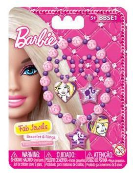Набор украшений Barbie (Mattel) BBSE1C 3 предмета mattel стиральная машина barbie