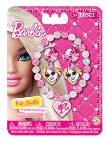 Набор украшений Barbie (Mattel) BBSE2 3 предмета mattel стиральная машина barbie
