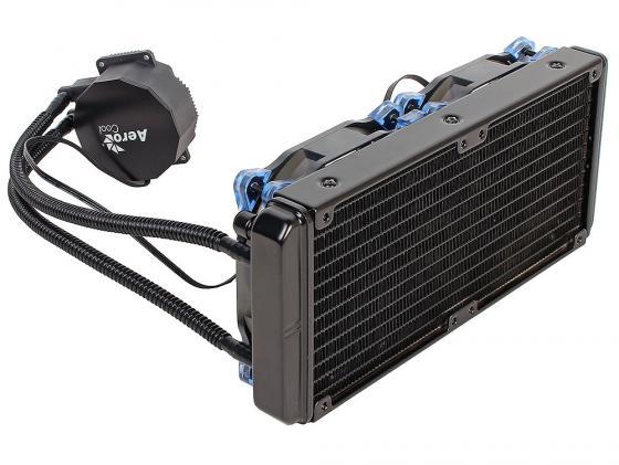 Водяное охлаждение Aerocool Likai 240 Socket 775/1150/1151/1155/1156/1356/1366/2011/2011-3/AM2/AM2+/AM3/AM3+/FM1/FM2/FM2+