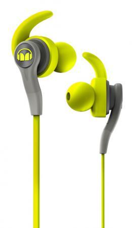 Купить Наушники с микрофоном Monster iSport Compete In-Ear (Green) 137084-00 Наушники
