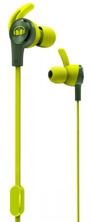 Купить Наушники с микрофоном Monster iSport Achieve (Green) 137091-00 Наушники