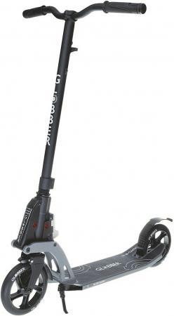 Купить Самокат двухколёсный Globber My Too One К180 by Kleefer 7 черный 499-180 Двухколесные самокаты для детей