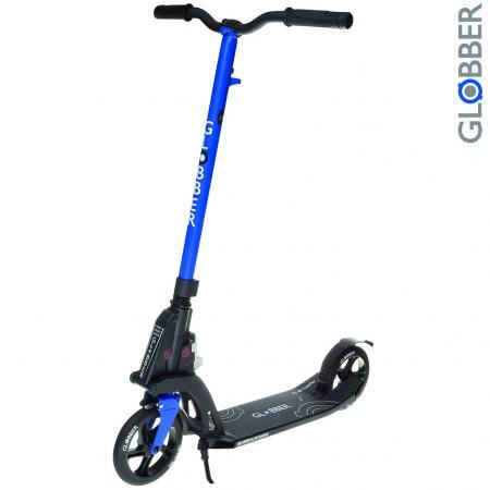 Купить Самокат двухколёсный Y-SCOO My TOO ONE К180 by Kleefer 7 синий Двухколесные самокаты для детей