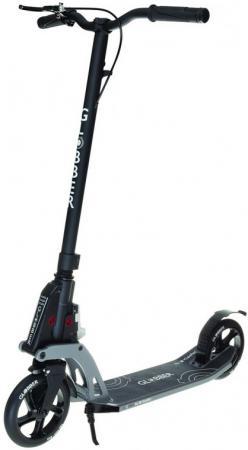 Купить Самокат двухколёсный Y-SCOO My TOO ONE К180 by Kleefer 7 черный 499-190 Двухколесные самокаты для детей