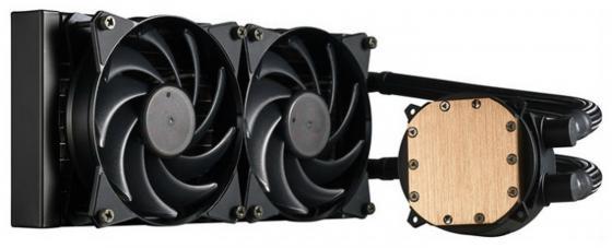 Кулер для процессора Cooler Master MasterLiquid 240 Socket 775/1150/1151/1155/1156/1356/1366/2011/2011-3/AM2/AM2+/AM3/AM3+/FM1/AM4/FM2/FM2+ MLX-D24M-A20PW-R1