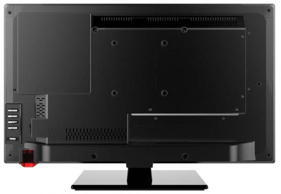"Телевизор LED 24"" Thomson T24E21DH-01B черный 1366x768 HDMI USB S/PDIF VGA SCART"
