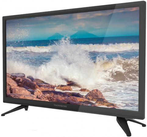 "Телевизор 22"" Thomson T22D16DF-02B черный 1920x1080 USB HDMI SCART VGA"