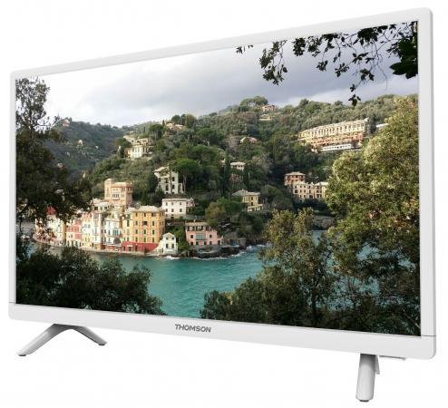 "Телевизор 24"" Thomson T24E20DH-01W белый 1366x768 HDMI VGA SCART USB"