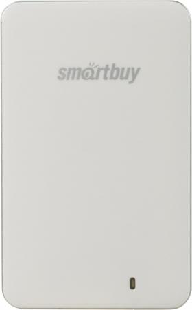 Внешний жесткий диск 1.8 USB3.0 SSD 128Gb SmartBuy S3 SB128GB-S3DW-18SU30 белый