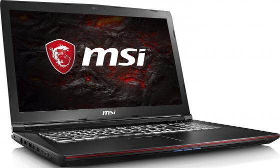 """Ноутбук MSI GP72 7RDX(Leopard)-484RU 17.3"""" 1920x1080 Intel Core i7-7700HQ 1Tb 8Gb nVidia GeForce GTX 1050 2048 Мб черный Windows 10"""