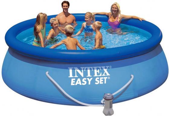 Купить Надувной бассейн INTEX Easy Set 457х107 см Детские бассейны и лодки