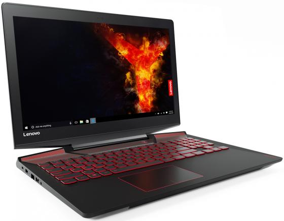 "Ноутбук Lenovo Y720-15IKB 15.6"" 1920x1080 Intel Core i7-7700HQ 1 Tb 16Gb nVidia GeForce GTX 1060 6144 Мб черный Windows 10"