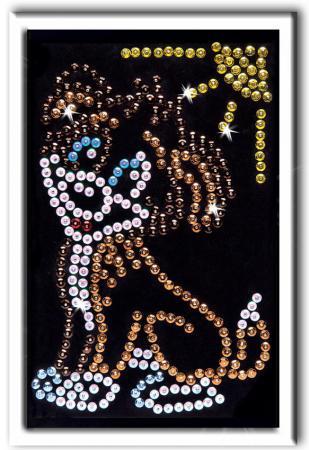 Мозайка из пайеток Волшебная мастерская Щенок мозайка из пайеток волшебная мастерская лилии 23