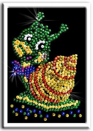 Мозайка из пайеток Волшебная мастерская Улитка мозайка из пайеток волшебная мастерская подсолнух