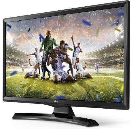 "Телевизор LED 24"" LG 24MT49VF-PZ черный 1366x768 USB HDMI"