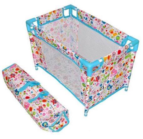 Купить Кроватка для кукол Mary Poppins Фантазия разборная, голуб., 51*32*33 см 67318 Аксессуары для кукол