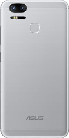 Смартфон ASUS ZenFone 3 Zoom ZE553KL серебристый 5.5 64 Гб LTE Wi-Fi GPS 3G 90AZ01H1-M00770 смартфон asus zenfone 3 zoom ze553kl серебристый 5 5 64 гб lte wi fi gps 3g 90az01h1 m00770