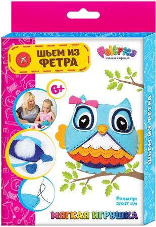 Купить Набор для творчества Feltrica Шьем из фетра Сова от 6 лет 26930 Прочие наборы для творчества