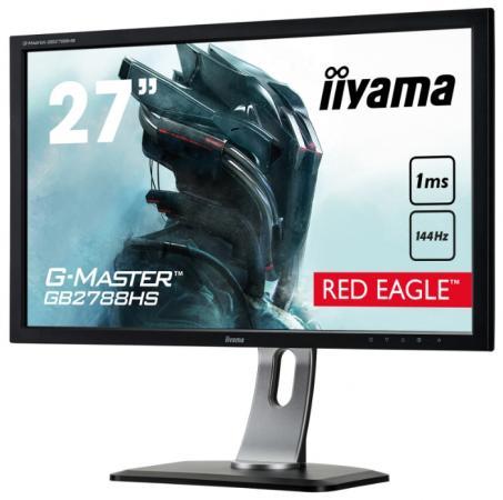 "Монитор 27"" iiYama G-Master GB2788HS-B2 черный TN 1920x1080 300 cd/m^2 1 ms HDMI DVI DisplayPort Аудио"