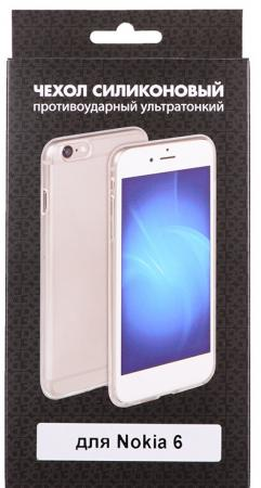 Чехол силиконовый DF nkCase-03 для Nokia 6 nokia c5 03 в самаре