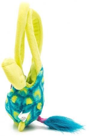 Плюшевая игрушка Furby сумочка павлин 12 см, хенгтег ферби