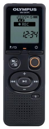 Купить Цифровой диктофон Olympus VN-541PC 4Гб черный + наушники E39 Диктофоны