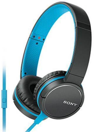 Купить Наушники SONY MDR-ZX660 синий черный Наушники