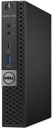 Неттоп DELL OptiPlex 7050 MFF Intel Core i7-7700T 8Gb 500Gb Intel HD Graphics 630 Windows 10 Professional черный 7050-8350 7050-8350 windows 7 professional x64