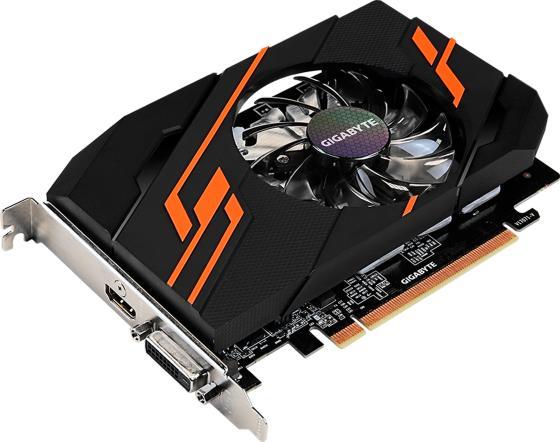 Видеокарта 2048Mb Gigabyte GeForce GT1030 PCI-E DDR5 64bit DVI HDMI HDCP GV-N1030OC-2GI Retail видеокарта gigabyte geforce gt 1030 2048mb gt 1030 gv n1030oc 2gi dvi d hdmi ret