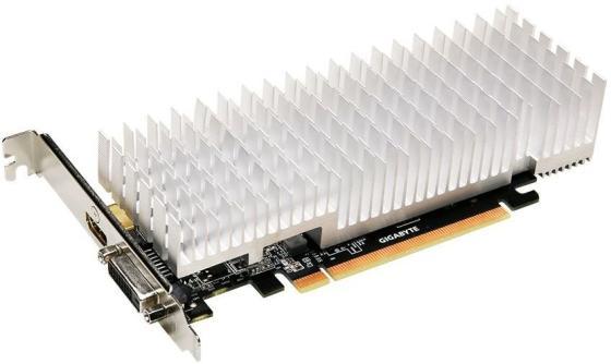 Видеокарта 2048Mb Gigabyte GeForce GT1030 PCI-E DDR5 64bit DVI HDMI HDCP GV-N1030SL-2GL Retail видеокарта gigabyte geforce gt 1030 2048mb gt 1030 gv n1030oc 2gi dvi d hdmi ret