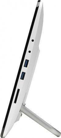 Моноблок 15.6 ASUS A4110-WD055M 1366 x 768 Multi Touch Intel Celeron-J3160 4Gb 500Gb Intel HD Graphics 400 DOS белый 90PT01H2-M06090 вода bebi вода детская питьевая с 0 мес 1 л