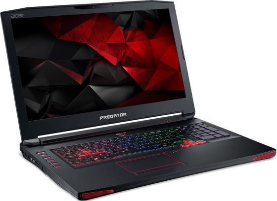"Ноутбук Acer Predator G9-793-72QZ 17.3"" 3840x2160 Intel Core i7-7700HQ 2Tb + 512 SSD 32Gb nVidia GeForce GTX 1070 8192 Мб черный Windows 10 Home NH.Q1UER.005"