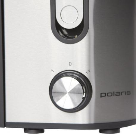 Соковыжималка Polaris PEA 1122AL 1100 Вт чёрный серебристый