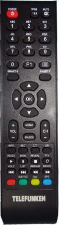 "Телевизор 38"" Telefunken TF-LED39S57T2 черный 1366x768 50 Гц VGA S/PDIF"