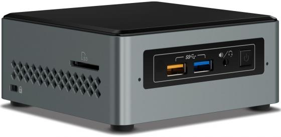 Купить Intel NUC [BOXNUC6CAYSAJ] Cel J3455, 2GB SODIMM (2xslot DDR3L SODIMM (max 8GB)), 32GB eMMC+2.5 SATA SSD/HDD+SDXC UHS-I, Wireless-AC 3168 (M.2 30mm) Bluetooth 4.2, Intel HD Graphics, HDMI+Combo, Win Неттопы