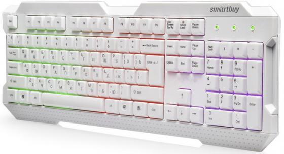 Клавиатура проводная Smart Buy ONE 332 USB белый
