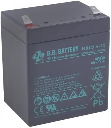 Батарея B.B. Battery HRC 5.5-12 5Ач 12B