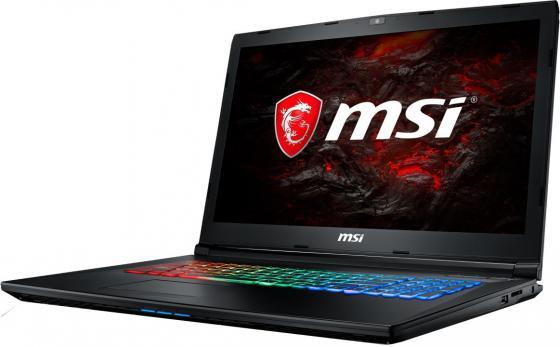 "Ноутбук MSI GP72M 7REX-1013RU Leopard Pro 17.3"" 1920x1080 Intel Core i5-7300HQ 1 Tb 128 Gb 8Gb nVidia GeForce GTX 1050Ti 4096 Мб черный Windows 10 Home 9S7-1799D3-1013"