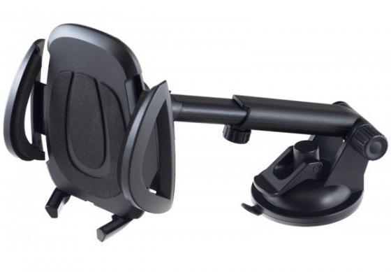 Автомобильный держатель Perfeo PH-521 до 6.5 на стекло/торпедо черный