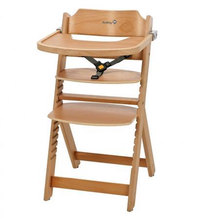 Купить Стульчик для кормления Safety 1st Timba with Tray (natural wood) Стульчики для кормления