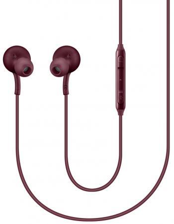 Купить Наушники Samsung EO-IG955 красный Гарнитуры наушники + микрофон