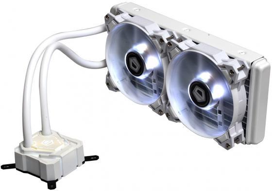 Водяное охлаждение ID-Cooling Icekimo 240W White Socket 1150/1151/1155/1156/2066/1356/1366/2011/2011-3/AM2/AM2+/AM3/AM3+/FM1/FM2/FM2+