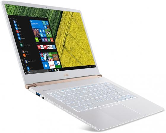 Ультрабук Acer Swift 5 SF514-51-57TN 14 1920x1080 Intel Core i5-7200U 256 Gb 8Gb Intel HD Graphics 620 белый Windows 10 Home ноутбук dell inspiron 15 7567 2800 мгц 8 гб 1000 гб