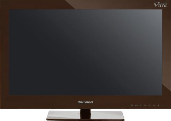 "Телевизор LED 24"" SHIVAKI STV-24LEDGM9 коричневый 1920x1080 VGA HDMI USB SCART"
