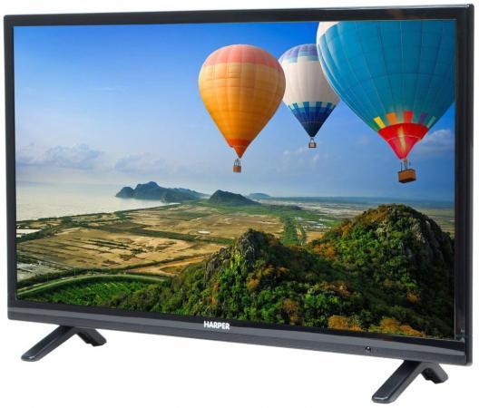 "Телевизор LED 32"" Harper 32R660T черный 1366x768 50 Гц VGA USB"