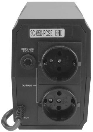 ИБП 3Cott 3C-650-PCSE 650VA/360W