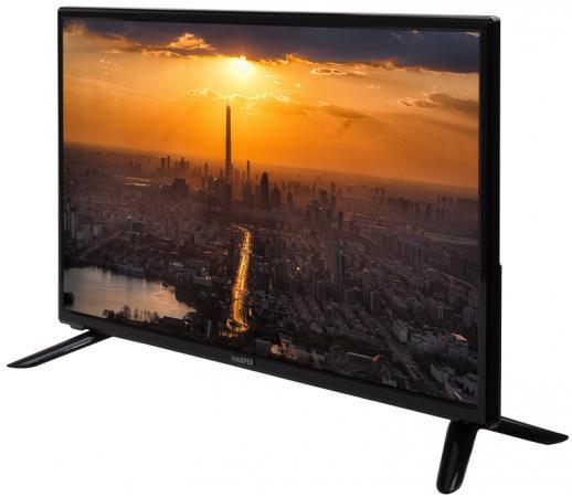 """Телевизор LED 28"""" Harper 28R470T черный 1366x768 USB VGA"""